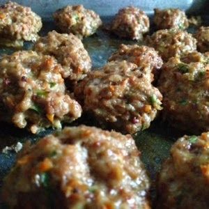 Heal me in the kitchen: Pork and chicken liver meatballs ...