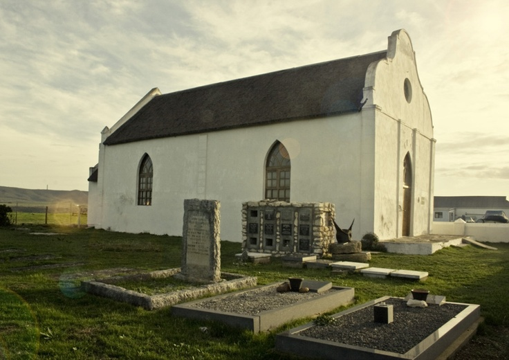 A beautiful little church in the small coastal town of Witsand in the Western Cape.