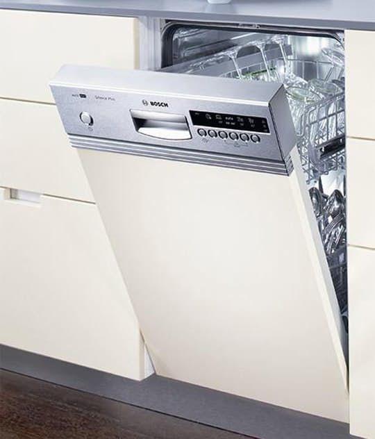 slimline dishwashers when space is at a premium