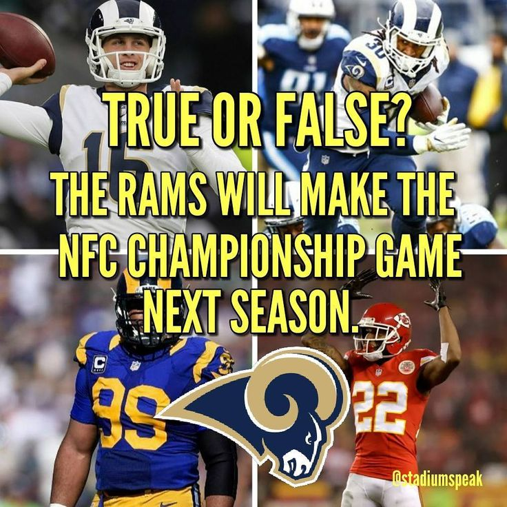 """True. The NFC looks wide open. The Saints Panthers and Falcons seem to all be on the decline and the Vikings only made the NFC champsionship game on a """"fluke""""ish play then proceeded to get crushed by the Eagles. The Eagles are still a threat but it will take a while for Carson Wentz to fully recover. No team in the NFC West can challenge the Rams especially now that they have Marcus Peters. The legendary defense of the Seahawks seems to also be on the decline and despite the clutch play of…"""