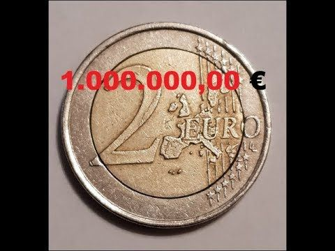2 Euro Fehlprägung 1.000.000,00 € – YouTube
