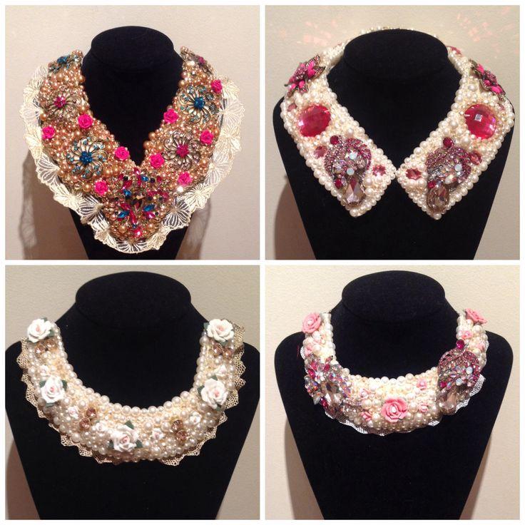 Aisling Maher hand beaded neckpieces