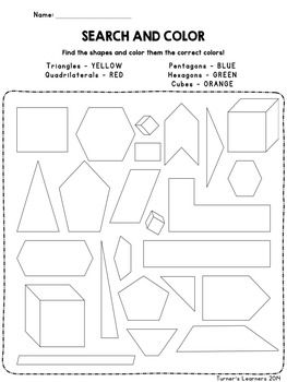 Geometry Investigations- Inquiry Approach to Shapes