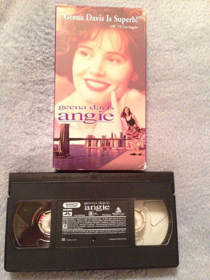 Angie (1994) - VHS Tape - Comedy - Geena Davis - Stephen Rea - James Gandolfini