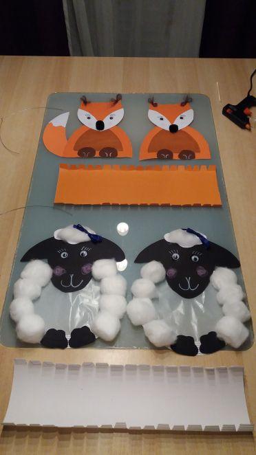 Fuchslaterne und Schaflaterne basteln