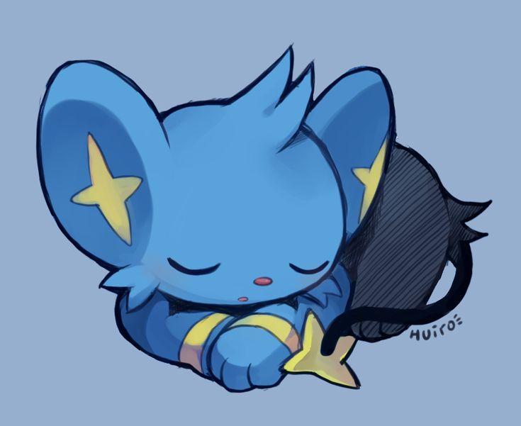 "huiro: ""little Shinx """
