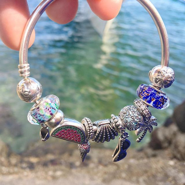 What does it mean to #BeFlirty? #BeCool? #BeBold? Share your image of #BeCharming on our contest page for a chance to win a #Pandora #charm!