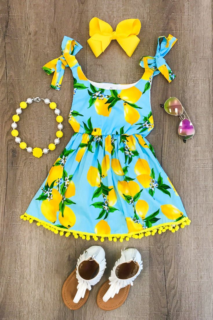 Light Blue Lemonade Dress