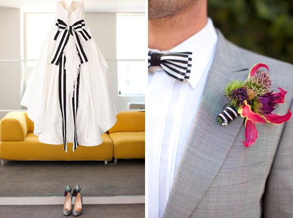 Wonderful Weddings: Black and Gold Wedding Ideas - Once Wed