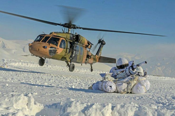 Turkey Mountain Commando- Skorsky S-70 Helicopter