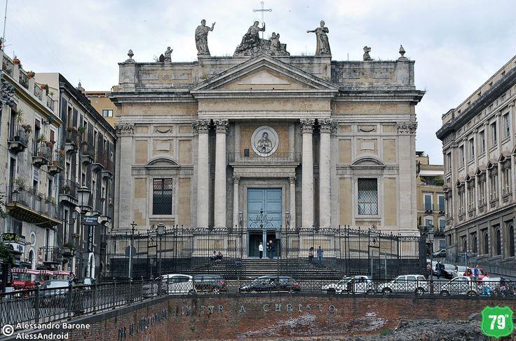 Chiesa di San Biagio #Catania #Sicilia #Italia #Italy #Viaggio #Viaggiare #Travel #AlwaysOnTheRoad