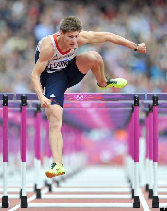 Lawrence Clarke - Athletics. 110m hurdles.