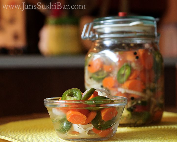 Jalapenos en Escabeche. This classic Mexican condiment is naturally fermented and full of probiotic goodness.