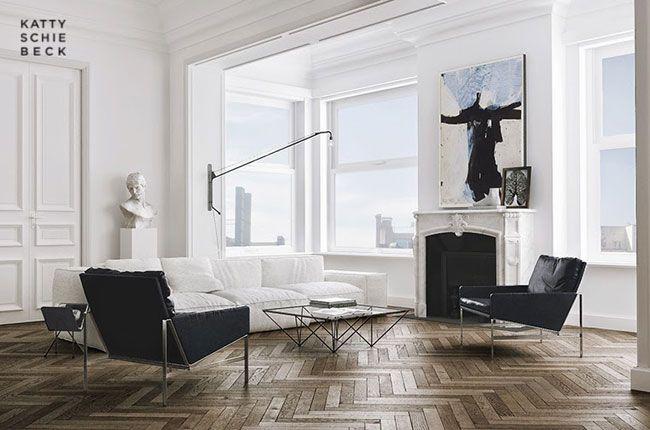 Appartement déco par Katty Schiebeck #InteriorDesign