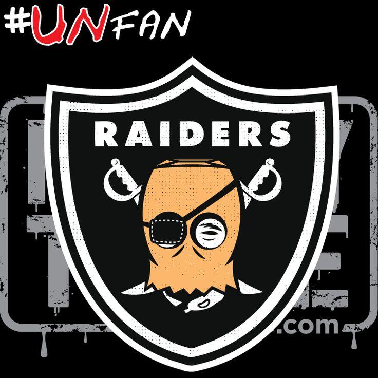 Funny Raiders Parody Logo #UNfan #Chargers #Broncos #Raiders #Chiefs #NFL #ParodyTease #memes