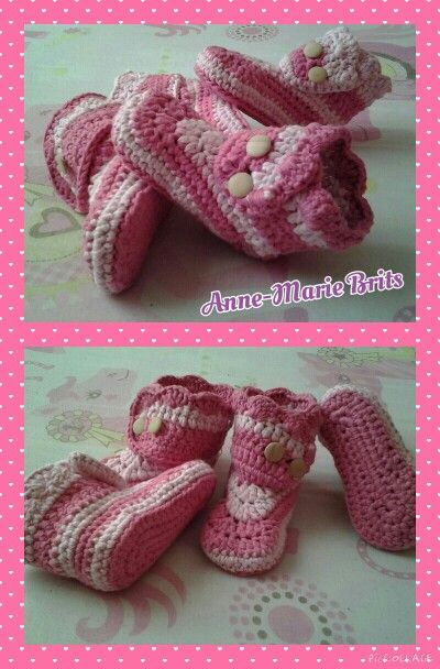 Wraparound baby boots