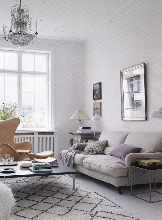 Neutral Living Room Palette Grey Spacial Design