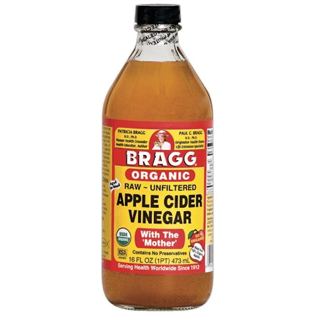 DIY Apple Cider Vinegar Hair Rinse