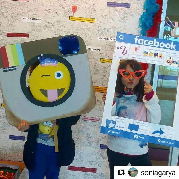 Rodrigo y Micaela han pasado por nuestro photocall de #carnaval en la #BibliotecaULL del #campusdeGuajara ☺¡Te esperamos a ti también!   #disfrutaelcarnaval #Tenerifeencarnaval #viveelcarnaval #bbtkull #instabiblioteca #Canarias #Tenerife #Repost @soniagarya with @repostapp  ・・・  Rodrigo y Micaela celebran @bibliotecaull