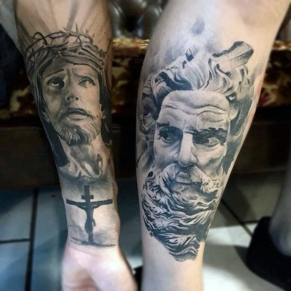 15 Best Forearm Tattoos Done At Iron Buzz Tattoos Mumbai: 17 Best Ideas About Religious Tattoos For Men On Pinterest