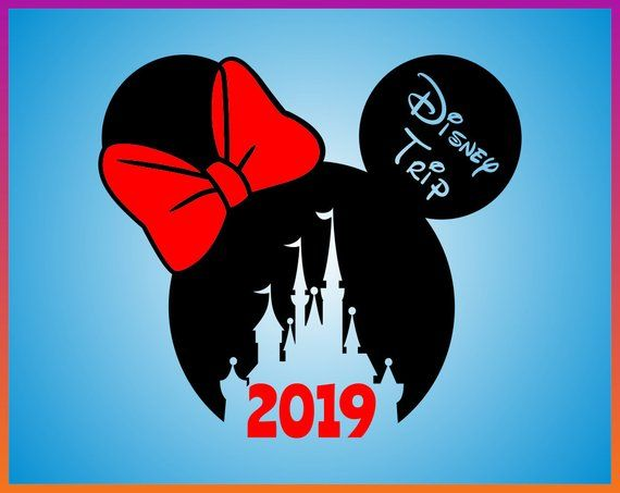 Disney Trip Minnie Svg Minnie Head Svg Disney Trip