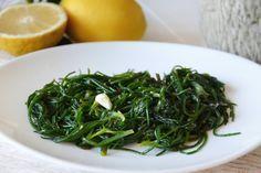 Agretti al limone, scopri la ricetta: http://www.misya.info/ricetta/agretti-al-limone.htm