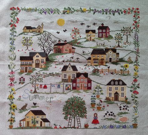 Youngok's Happy Crafts: Cross Stitch - Estate (etc-Summer) from Sara Guermani