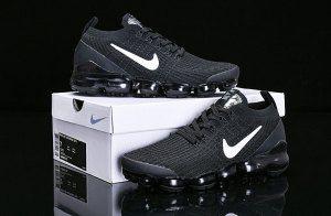 0449dcd9671e Nike Air Vapormax Flyknit 2019 Triple Black AJ6900-004 Women s Men s  Running Shoes