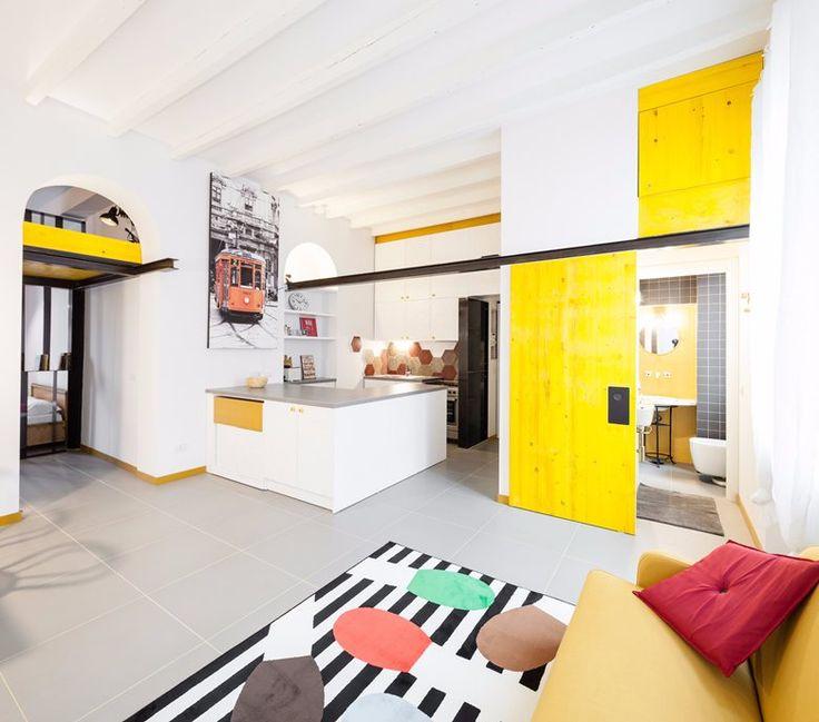 Casa Giallodentro, Milano, 2015 - 23bassi studio di architettura
