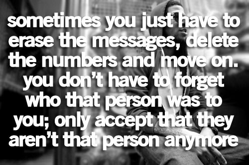 Sometimes you just have to erase the messages...