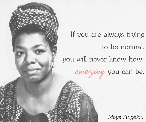 Maya Angelou. R.I.P.