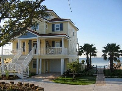 Navarre Beach house rental - Beautiful new home is on the Santa Rosa Sound.