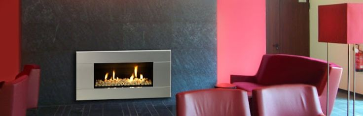 Escea Indoor Fireplace: ST900 LOW GAS CONSUMPTION FIREPLACE - A modern style indoor fireplace, the sleek Escea ST900 is both economical and flexible. #Heating #GasHeating #IndoorFireplace #Escea #HearthHouse