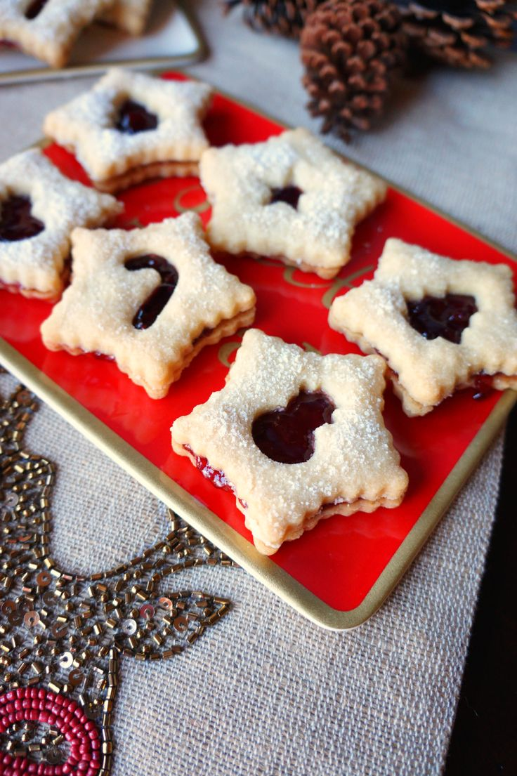 berry linzer cookies | The Baking Fairy