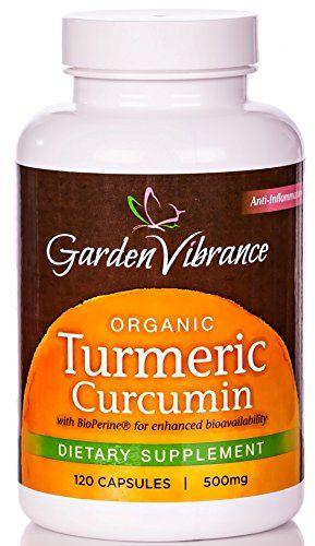 These are really good! Garden Vibrance Organic Turmeric Curcumin 95 with Bioperine - 120 Turmeric Curcumin Capsules - 500mg Best Curcumin with Black Pepper (More Bioavailable) Tumeric Supplement Standardized with 95% Curcuminoids Garden Vibrance http://www.amazon.com/dp/B00MZYO866/ref=cm_sw_r_pi_dp_ijxRub06YJKPG #vitamins #painrelief #curcumin #organic