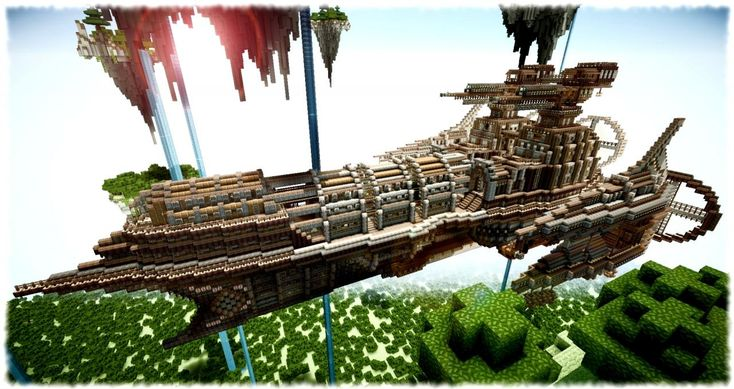 Imperial Minecraft Airship | Minecraft architecture ...