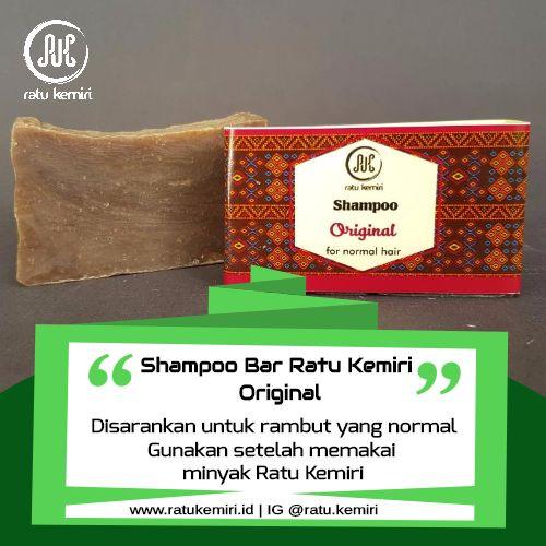 LINE/WA/TELEGRAM 0878 2338 1610 untuk order shampoo natural perawatan rambut normal Ratu Kemiri. Tanpa pewangi, tanpa detergen dan bahan kimia.