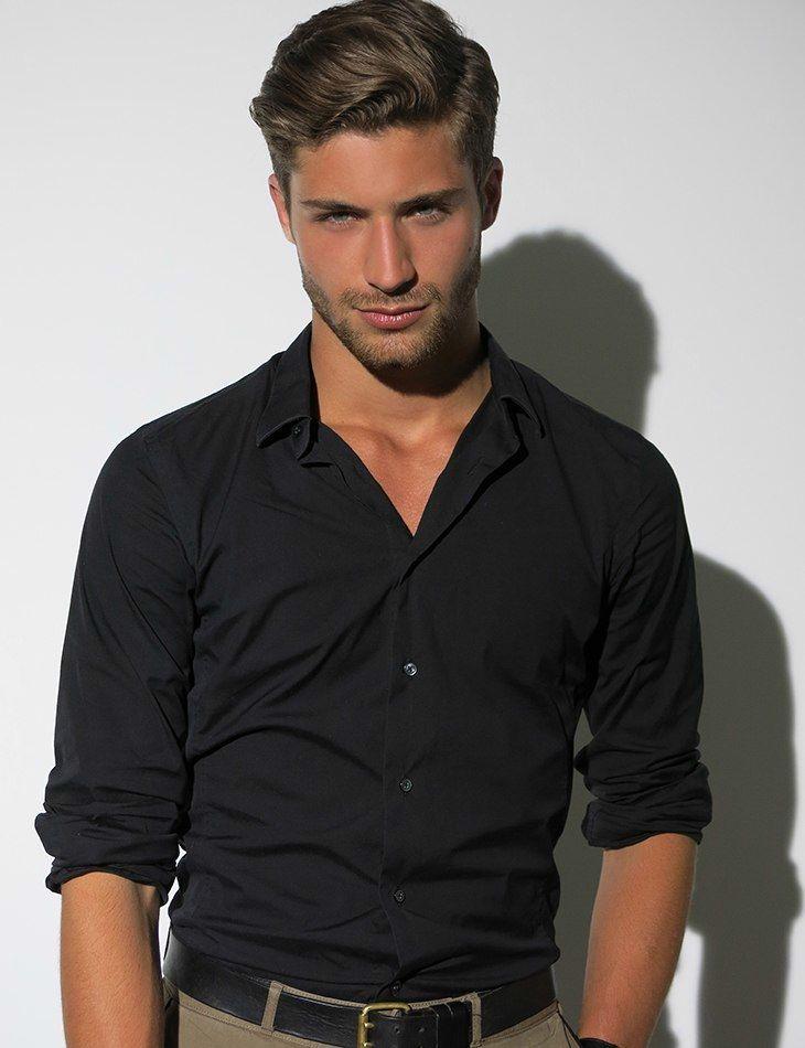 All Black Button Down Shirt