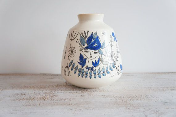 Vintage Stavangerflint Norway Inger Waage by RedHillHome on Etsy, $69.00