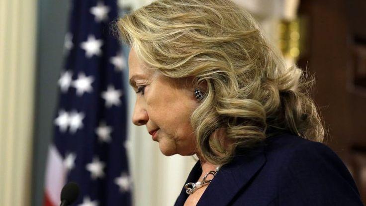 09.04.14 / Hillary Clinton envisage d'être candidate aux primaires démocrates / L'ancienne secrétaire d'État a fait un pas de plus vers sa candidature à l'investiture démocrate pour la prochaine présidentielle américaine, en ne cachant pas qu'elle «pensait» à cette possibilité / À l'occasion d'une conférence sur le marketing mardi à San Francisco, Hillary Clinton a déclaré qu'elle «pensait» à une éventuelle candidature à l'élection présidentielle américaine de 2016.