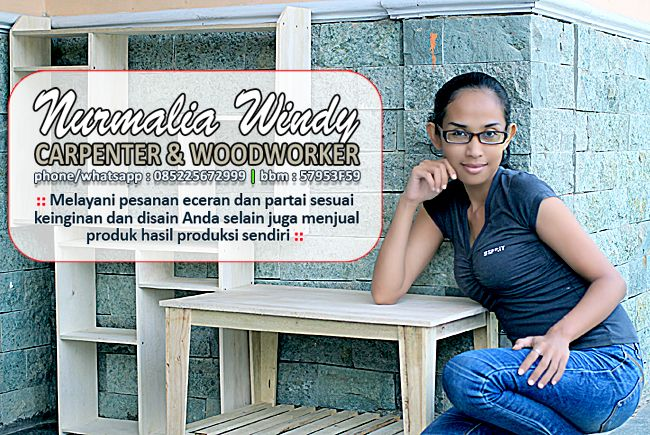 Nurmalia Windy - Fotografer Purwokerto   Windygraphy   Fotografer Wedding   Fotografer Prewedding: Nurmalia Windy Carpenter & Woodworker