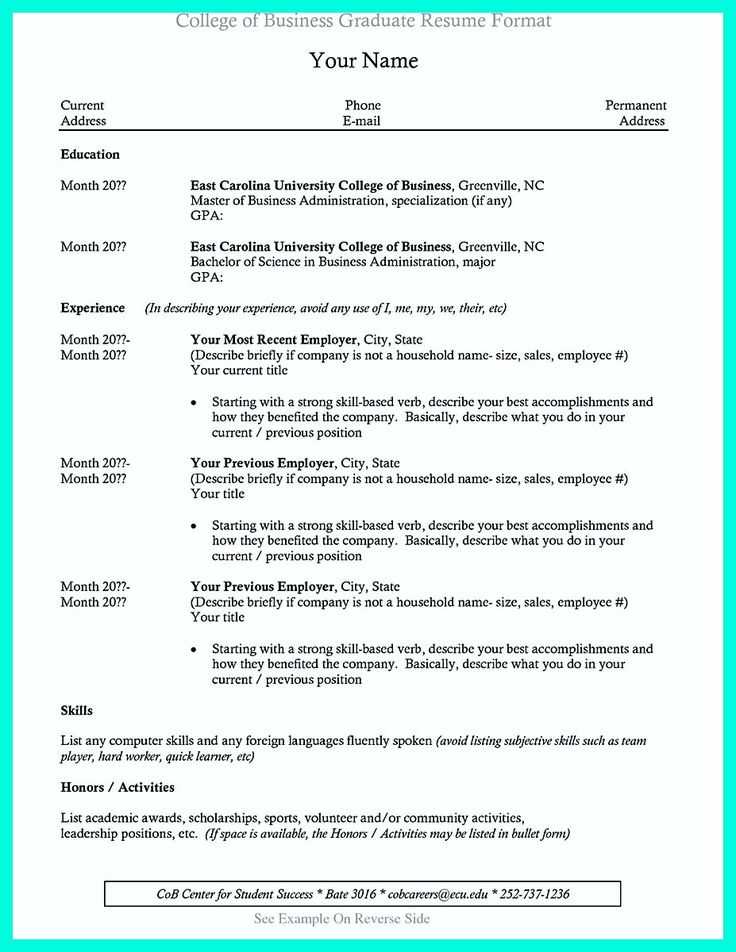 Best 25+ College resume template ideas on Pinterest Office - current resume format examples
