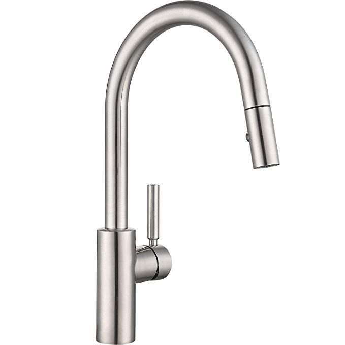 luca kitchen sink faucet with pull down