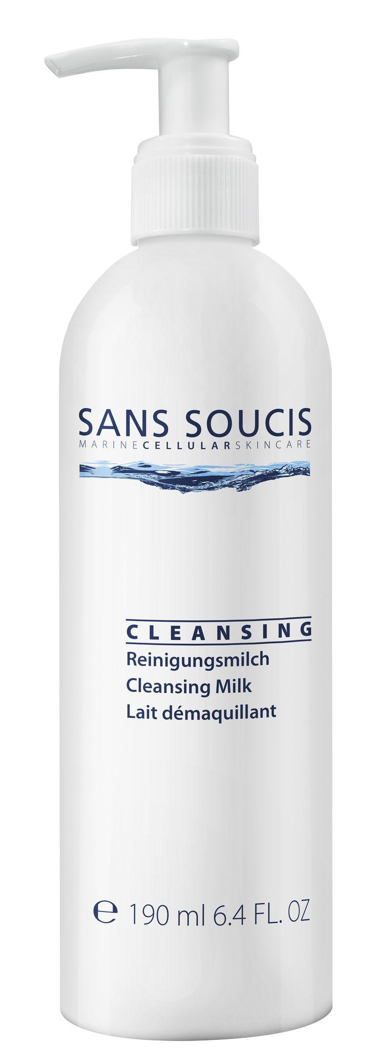 De Cleansing Milk van Sans Soucis verwijdert op zacht wijze make-up en onzuiverheden van de huid. De Cleansing Milk bevat het RefreshCare Complex. Dit Complex verfrist de huid, bevordert het vochtigheidsniveau van de huid en vermindert lichte irritaties en roodheden. De Cleansing Milk is geschikt voor een  normale, droge huid waarbij de huid er na gebruik schoon en stralend uitziet.