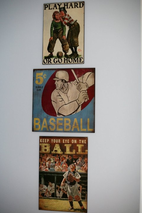 I Have A Son Who Is Dying For His Own Big Boy Baseball Room