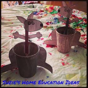 Suzie's Home Education Ideas: 9 Australian Animal Crafts