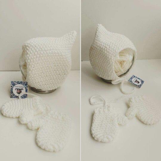 Tutitas tejedoras crochet newborn bebé conjunto