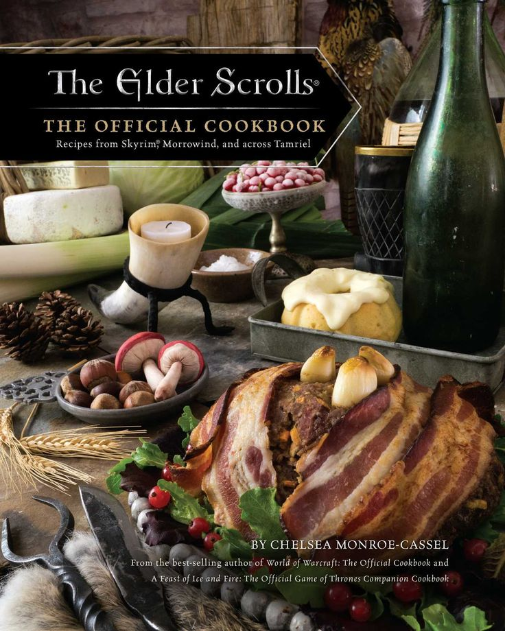 pdf download  the elder scrolls  the official cookbook free epub  with images