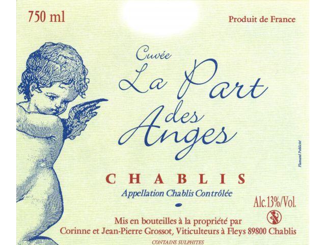 La Part des Ange Chablis.