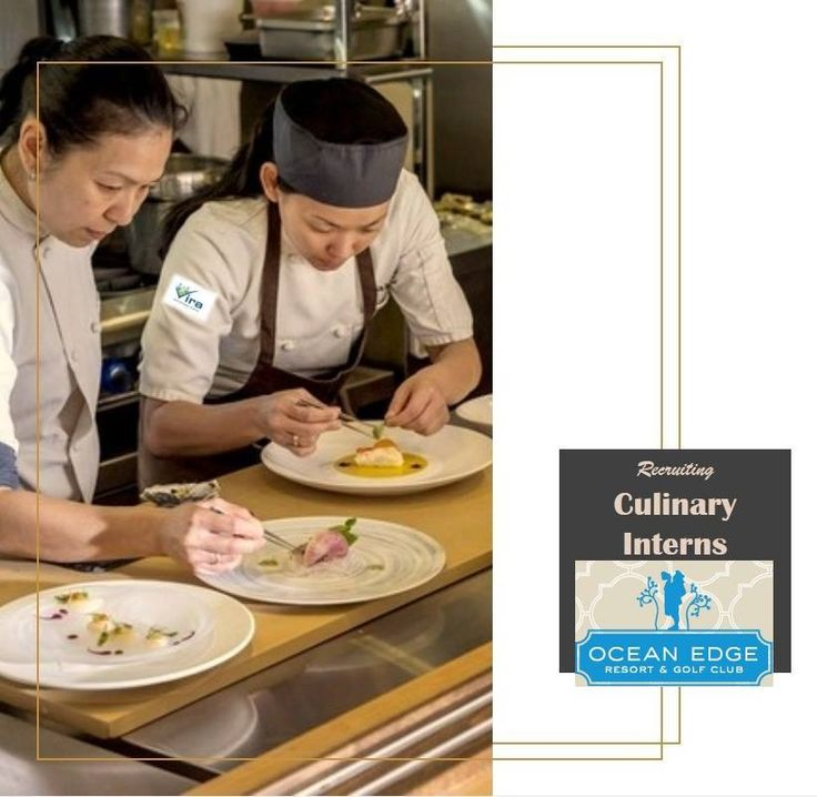 Urgently required!! We are recruiting culinary interns for Ocean Edge Resort & Golf Club. Do not wait! Email your CVs to anjum@vira.co.uk ASAP! Interview Date is December 2016! HURRY!! Important: Only 2016 graduates in hospitality field will be acceptable! For more details visit: www.vira.co.uk or contact us at: 02088635811